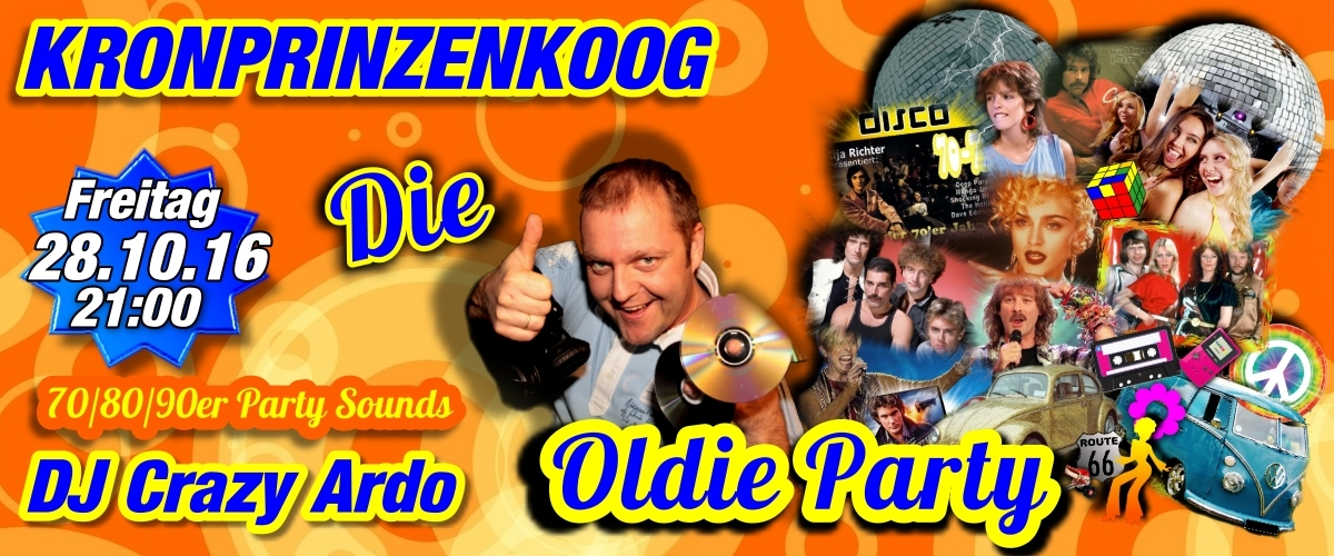 Kronprinzenkoog Oldie Party