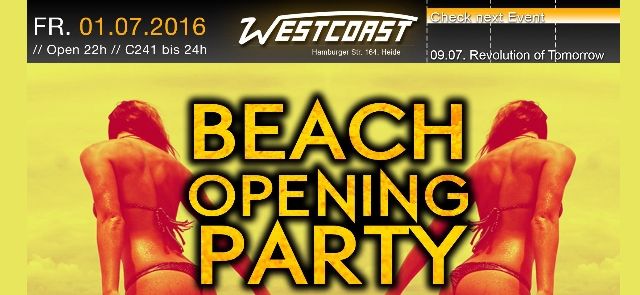 Beach Opening Party